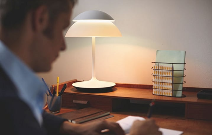 Philips' Hue Beyond brings smart lighting to lamps and table lights