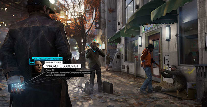 What would the game Watch Dogs be like with an iPhone? (NSFW)