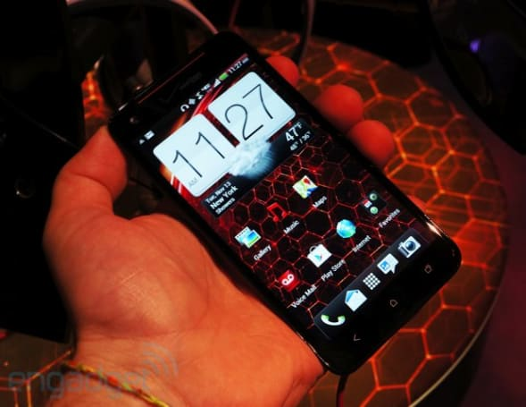 HTC Droid DNA hands-on (video)