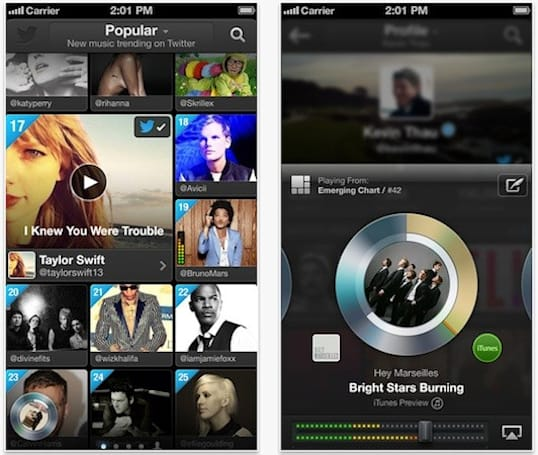 Twitter launching #Music app for iPhone alongside new service today (update: now live)