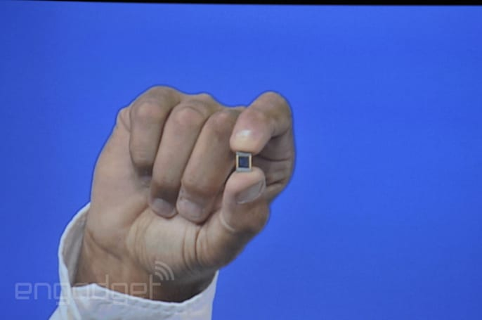 Intel shows off its wearable 'Curie' chip using BMX tricks