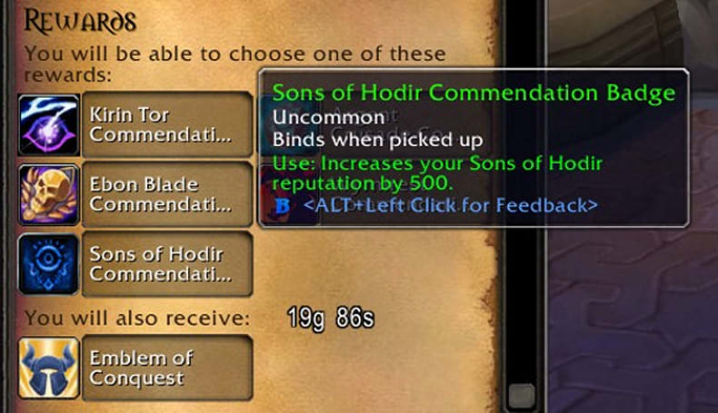 Patch 3.2.2: Timear Foresees Sons of Hodir reputation in your future!