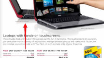 Studio 1558 Touch sneaks into Dell catalog with Core i5