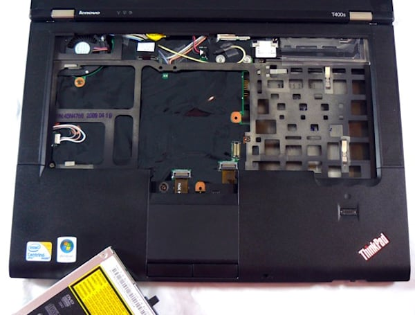 T400s disassembled, documented, found to be full of components