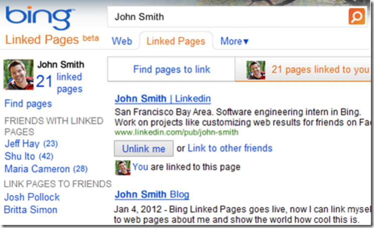 Microsoft adds new feature to Bing, wants you to stay Linked (video)