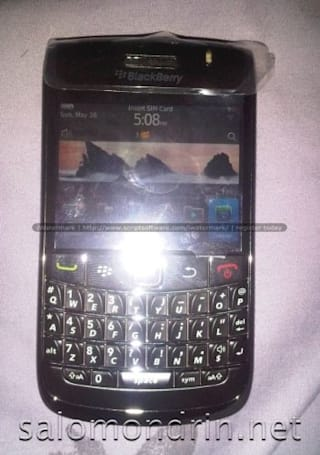 BlackBerry Bold 9780 leaks out with OS 6, QWERTY instead of touchscreen