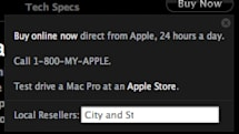 Mac Pro 'Buy Now' features local resellers