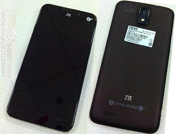 ZTE U956 poses for pics, said to offer a 5-inch 720p screen, quad-core CPU