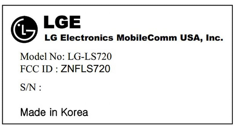 LG LS720 hits the FCC, hints at a mid-tier Sprint or Virgin phone with Jelly Bean