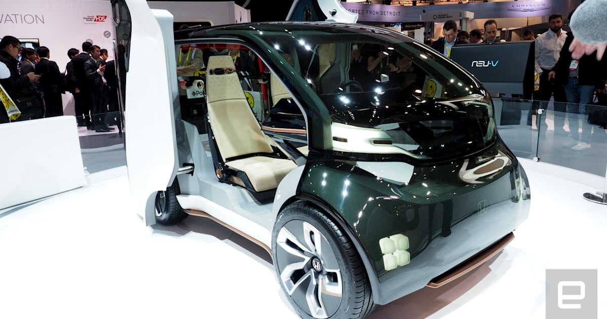 Inside Honda's money-making, AI-based NueV concept car