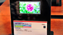 Toshiba declares victory in pixel density war: 367ppi coming to a phone this year (video)