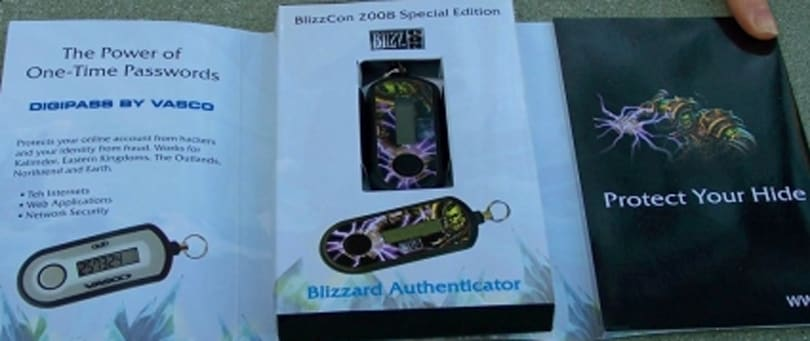 Countdown to Wrath Giveaway: Day 6 - BlizzCon Aunthenticators