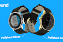 Pebble's Time Round now comes in polished gold and silver