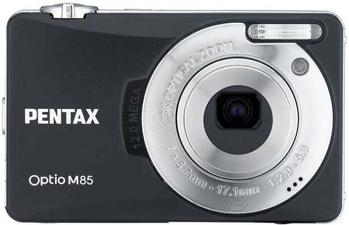 Pentax debuts 12 megapixel duo: Optio M85 and E85 point-and-shoots