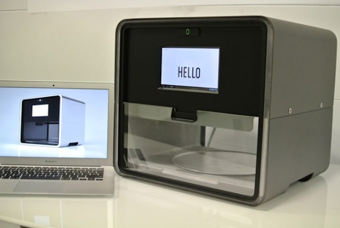 Foodini is a 3D printer for everything from burgers to gnocchi