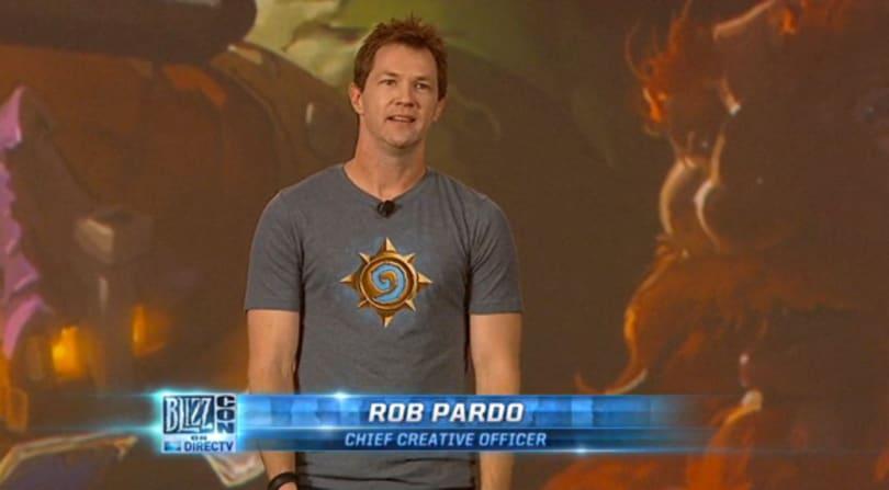 Rob Pardo is leaving Blizzard