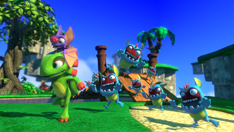Whimsical 'Yooka-Laylee' debuting at E3 2016