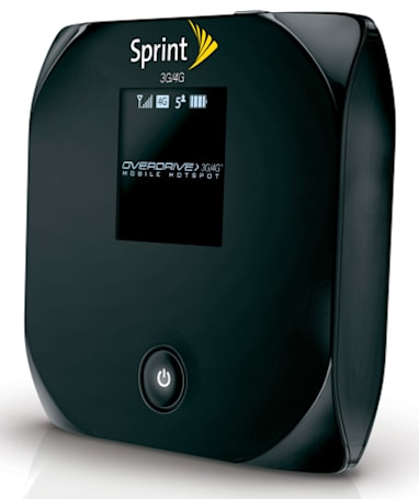 Sprint Overdrive 3G / 4G router officially announced