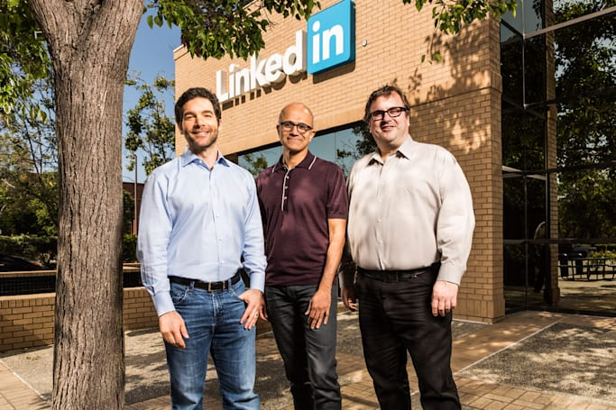 Microsoft buys LinkedIn for $26.2 billion