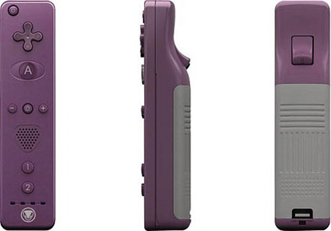 Apparent third-party Wiimote makes its purple debut