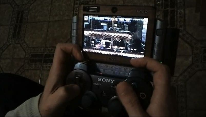 Modder attaches PS3 controller to VAIO UX UMPC, forgoes PlayStation Certification