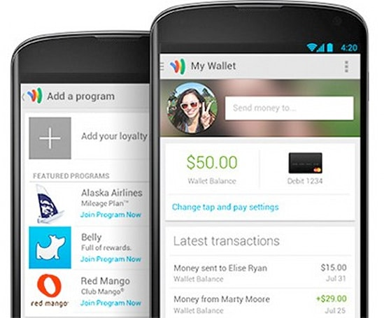 Updated Google Wallet app for Android delivers easier mobile payments