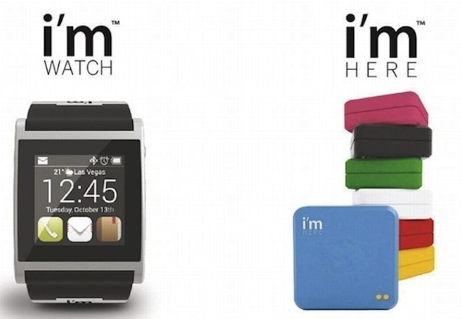 Updated Android-based I'm Watch, new I'm Here GPS tracker make their debut