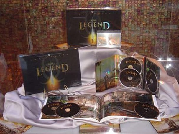 I Am Legend Ultimate Collectors Edition Blu-ray double-dips December 9