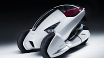 Honda shows off three-wheeled 3R-C concept vehicle