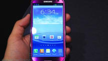 Eyes-on with Samsung's eggplant-flavored Galaxy S III