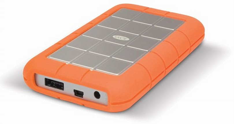 LaCie refreshes connectivity options on Rugged eSATA portable HDD