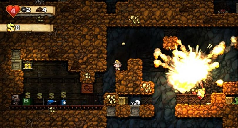 Spelunky surfaces in new screenshots