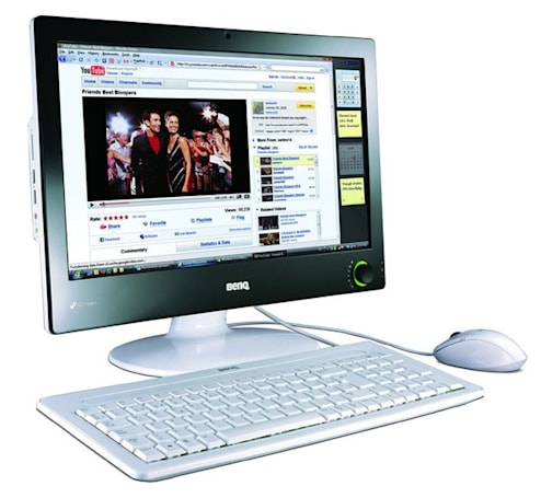 BenQ puts its all-in-one where its mouth is, announces nScreen i91