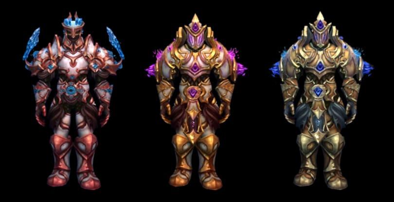 Tier 17 raid armor preview