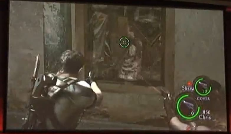 TGS 2009: Motion-controlled Resident Evil 5 caught on video