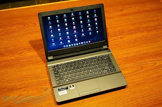 Origin and CUPP wed x86 and ARM in 11-inch gaming laptop, we go hands-on (video)