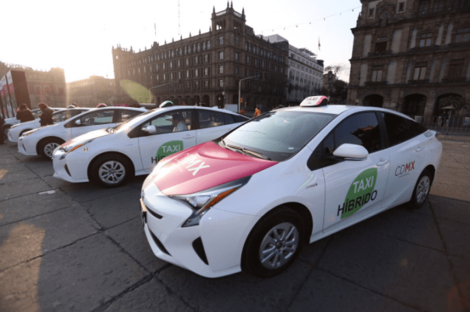 Mexico City's new hybrid taxis have a 'panic' button