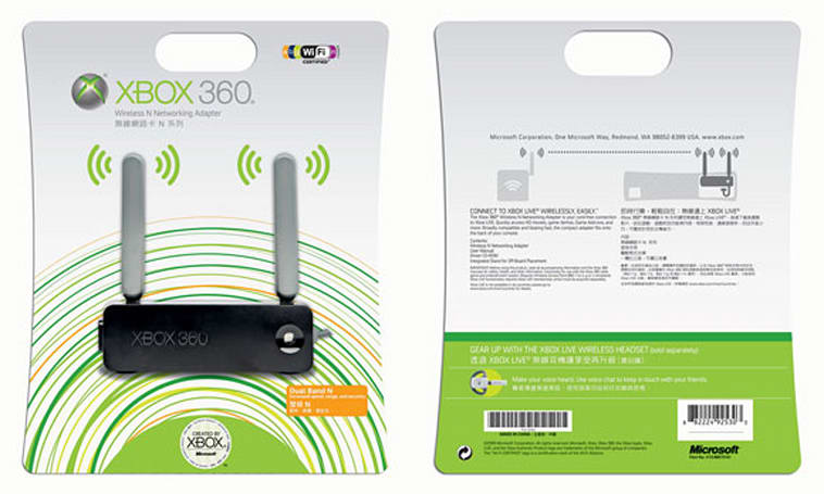 Xbox 360 Wireless N Networking Adapter out this week in North America [update]