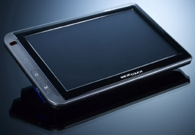Inkel's WideTouch W-700 series of 7-inch PMPs with GPS