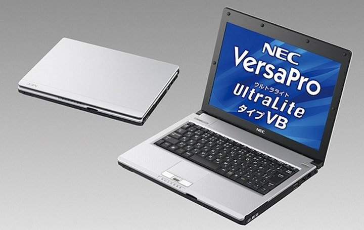 NEC debuts VersaPro UltraLite VB laptop, Mate MG all-in-one for Japan