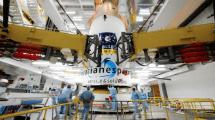 Galileo-Satellitenstart im Schnelldurchlauf