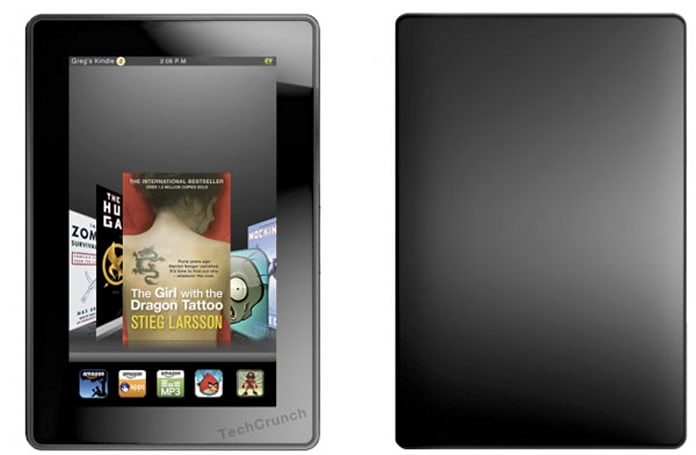Is a second generation Kindle Fire tablet hitting early next year?