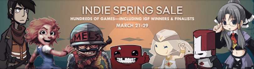 Indie Spring Sale bounces onto Steam