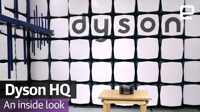 A tour around Dyson's headquarters