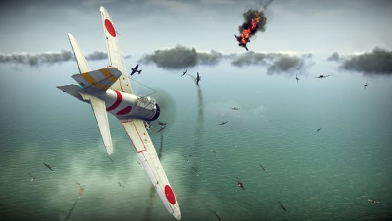 Konami announces Birds of Steel, a new WWII dogfighter from IL-2 dev