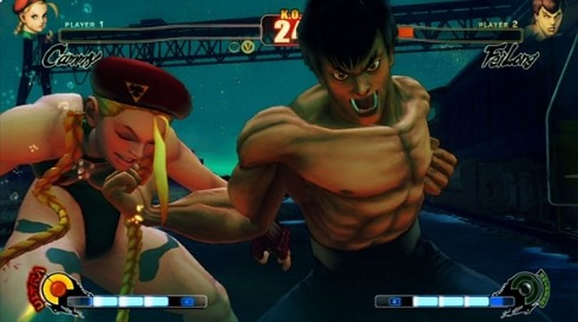 Console war to be settled this week in Street Fighter IV