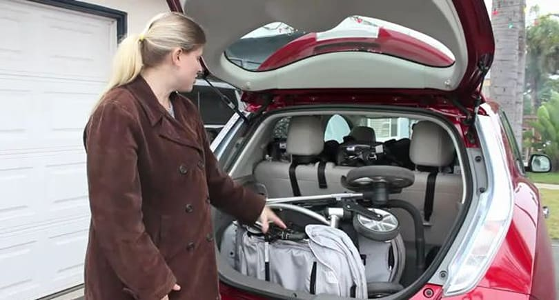 Nissan Leaf gets the 'family' review treatment, earns high marks
