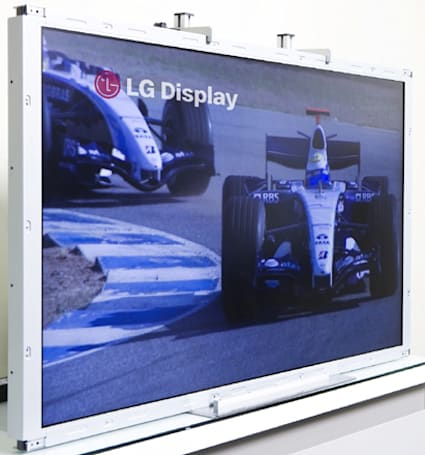 LG Display plans to melt eyes with Trumotion 480Hz LCD TV