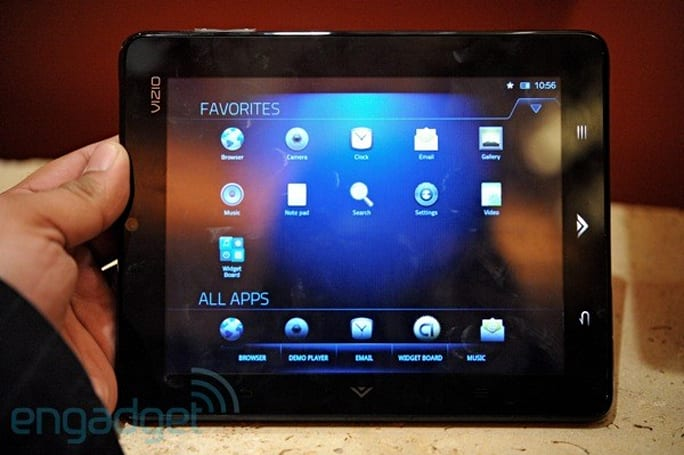 Vizio Tablet hands-on preview
