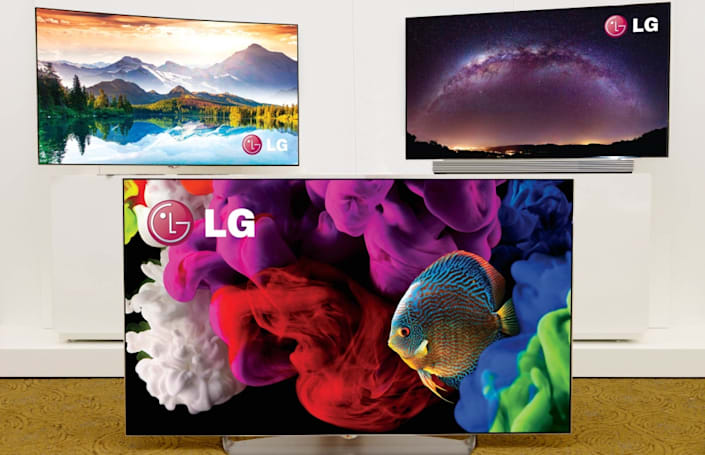 LG's new 4K OLED TVs can do flat, curved -- or both